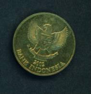 INDONESIA  -  2002  500 Rupiah  Circulated As Scan - Indonesia