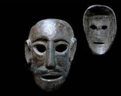 Ancien Masque Des Montagnes Moyennes /  Old Wooden Nepalese Mask - Art Asiatique