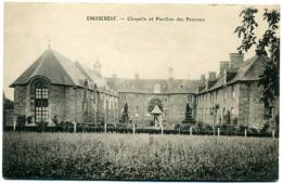 CPA 35 SAINT-SAUVEUR-DES-LANDES  --  Château De Chaudeboeuf  --  Chapelle Et Pavillon Des Femmes - France