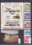 SUMMER SPORT World Wide, 60 Full Sets Or Miniature Sheets, Over 308 Stamps - Timbres