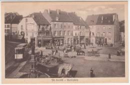 57 - Saint Avold - Marktplatz - Editeur: Faust (tramway) - Saint-Avold