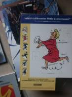 TINTIN SILHOUETTE  LA CASTAFIORE MOULINSART HERGE - Tintin
