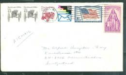 Lettre  De  Cody Pour La Suisse En 1986 - Bb12505 - United States