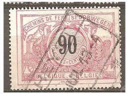 MY-2052    Ocb       TR   25   HEYST - Spoorwegen
