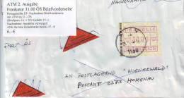 026l: ATM- Ausgabe 31.00 ÖS Mit Bedarfsstempel, Briefnachnahme - 1945-.... 2ème République
