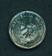 CUBA  -  2000  25 Cents  Circulated As Scan - Cuba