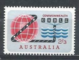 """Australia. Scott # 381 MLH. """" COMPACT """" Joint Issue With New Zealand 1963 - Gemeinschaftsausgaben"""