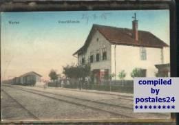 Wu02500 Bahnhof  Verbo X 1915 - Bahnhöfe Ohne Züge