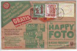 026ze: ATM- Beleg Mit 2.00 ÖS Bedarfsbrief - 1945-.... 2ème République