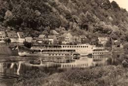 00607 Motorschiff ERNST THÄLMANN Bei Wehlen Auf Der Elbe -  Sächsische Schweiz - Non Classés