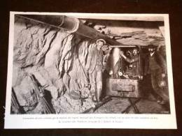 Il Traforo Del Sempione Nel 1903 Locomotiva Ad Aria Per Il Trasporto Dei Rottami - Vieux Papiers