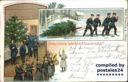 Wf38157 Weihnachten Soldaten - Unclassified
