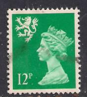 SCOTLAND GB 1986 12p BRIGHT EMERALD GREEN USED MACHIN STAMP 15 PERFS SG S 52.. ( G710 ) - Regional Issues