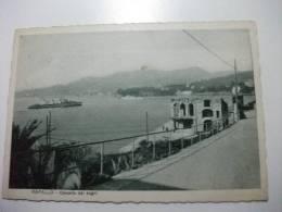 Nave Ship Guerra Castello Dei Sogni Rapallo - Guerra
