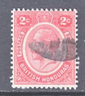 British Honduras  94  (o)  Wmk. 4 - British Honduras (...-1970)