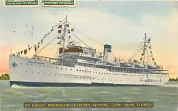 164077-Steamer SS Nuevo Dominicano, Eastern Shipping Corporation, Miami, Florida - Steamers