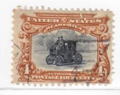 U.S. 296   V F (o) - Used Stamps