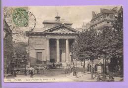 75 - PARIS - Eglise  Saint Philippe Du Roule - Animée -  Oblitérée En 1907 - Churches