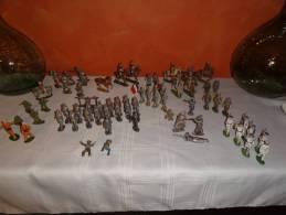 Lot Figurines Quiralu, Starlux Et Autres - Quiralu