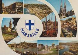 Cp , 13 , MARSEILLE , Carrefour Du Monde , Multi-Vues - Non Classificati