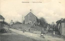 52 CHANCENAY L'EGLISE ET LA PLACE - Other Municipalities