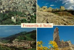 FRANCAVILLA DI SICILIA (ME) 4 BELLE VEDUTE - Messina