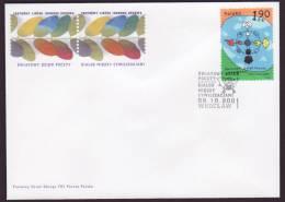 POLAND - DIALOGUE- DIALOG - DIALOGO CIVILIZATIONS 2001- FDC - FDC