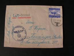 == DR  Feldpost 1942 - Allemagne