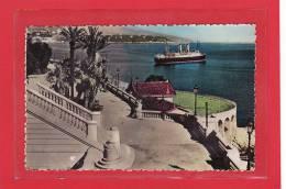 MONACO / MONTE-CARLO / CPSM / Les Terrasses, Le Tir Aux Pigeons Et Cap-Martin - Terrassen