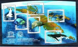Nouvelle Calédonie YV BF 39 N 2008 Faune De La Lagune - Meereswelt