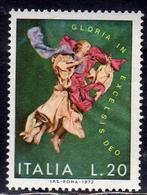 ITALIA REPUBBLICA ITALY REPUBLIC 1972 NATALE CHRISTMAS NOEL WEIHNACHTEN NAVIDAD NATAL LIRE 20 MNH - 6. 1946-.. Repubblica