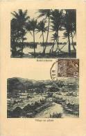 Oceanie- Ref 84- Papouasie Nouvelle Guinée - Hanuabada  -carte Bon Etat - - Papua Nuova Guinea