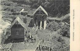 Oceanie- Ref 70- Papouasie Nouvelle Guinée - Ononghe - La Scierie -theme Scieries -arbres- Le Bois  -carte Bon Etat - - Papua Nuova Guinea