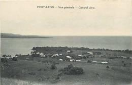 Oceanie- Ref 60- Papouasie Nouvelle Guinée - Port Leon   -carte Bon Etat - - Papua Nuova Guinea
