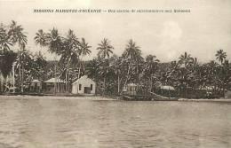 Oceanie- Ref 57- Mission Mariste D Oceanie -  Carte Bon Etat  - - Salomon