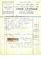 Quaregnon - 1925 - Omer Lévêque - Maître-couvreur - Unclassified
