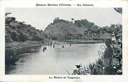 Oceanie- Ref 53- Missions Maristes D Oceanie-  Iles Salomon - La Riviere De Tangarare - Salomon