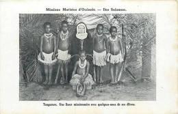 Oceanie- Ref 51- Missions Maristes D Oceanie-  Iles Salomon -tangarare -une Soeur Missionnaire -carte Bon Etat - Solomon Islands