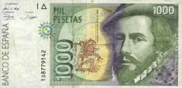1000 PESETAS ESPAÑA   BUONE CONDIZIONI  C8P2 - Espagne