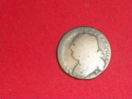 Pièce De 1793T / 12 Deniers - 1789-1795 Monnaies Constitutionnelles