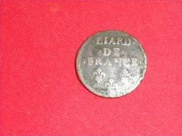 """Liard De France/ 1693 """"T"""" Ou """"I""""  ?(Monnaie Plus Belle Que Photo) - 987-1789 Monnaies Royales"""