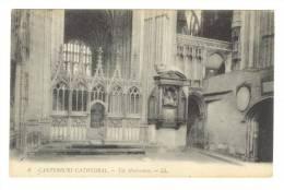 G1435 Canterbury Cathedral - The Martyrdom - Old Mini Card / Non Viaggiata - Canterbury