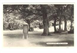 G1438 Rufus Stone - New Forest - Old Mini Card / Non Viaggiata - Inghilterra