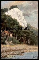 ALTE POSTKARTE OILETTE RAPHAEL TUCK POSTCARD SERIE RÜGEN No. 189 KÖNIGSSTUHL VON SÜDEN Cpa Tucks Postcard Ansichtskarte - Tuck, Raphael