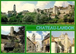 CPM N° 77 - CHATEAU LANDON 77 Seine Et Marne - Multi Vues - Chateau Landon