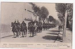 51 - EPERNAY - 1914 - Cavaliers Français Traversant Epernay à La Poursuite Des Allemands - Epernay