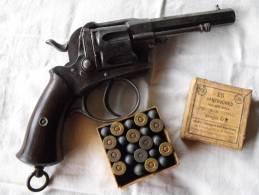 Revolver 380 8° Catégorie + Boite D'époque( 22 Au Lieu 25) ,parfait Fonctionnement - Zonder Classificatie