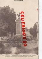 03 -  JALIGNY - MONUMENT AUX MORTS 1914-1918 - COQ  HOTEL DE PARIS