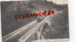 03 -   LE PONT DES MALAVAUX - ENVIRONS DE VICHY   TRAIN 1913