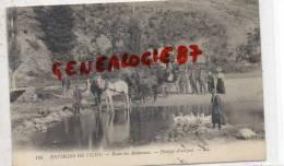 03 -   ROUTE DE  MALAVAUX - ENVIRONS DE VICHY  -  PASSAGE D´ UN GUE